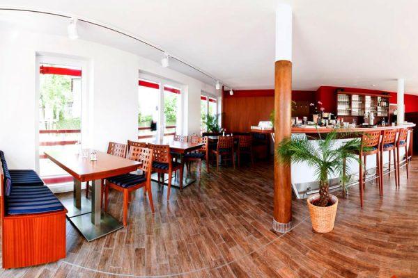 Restaurant im Lauterbacher Hafen auf der Insel Rügen