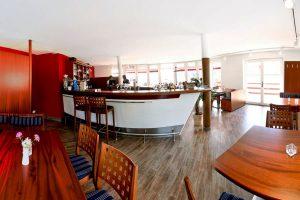 Kreativküche im Werft-Restaurant im Hafen von Lauterbach auf der Insel Rügen