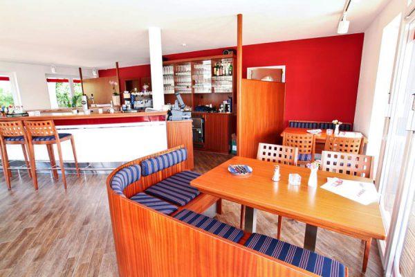 Mediterrane und regionale Gerichte im Werft-Restaurant in Lauterbach auf der Insel Rügen